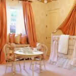шторы оранжевого цвета виды идеи