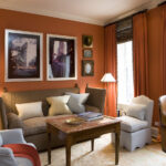 шторы оранжевого цвета фото идеи