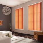 шторы оранжевого цвета фото дизайн