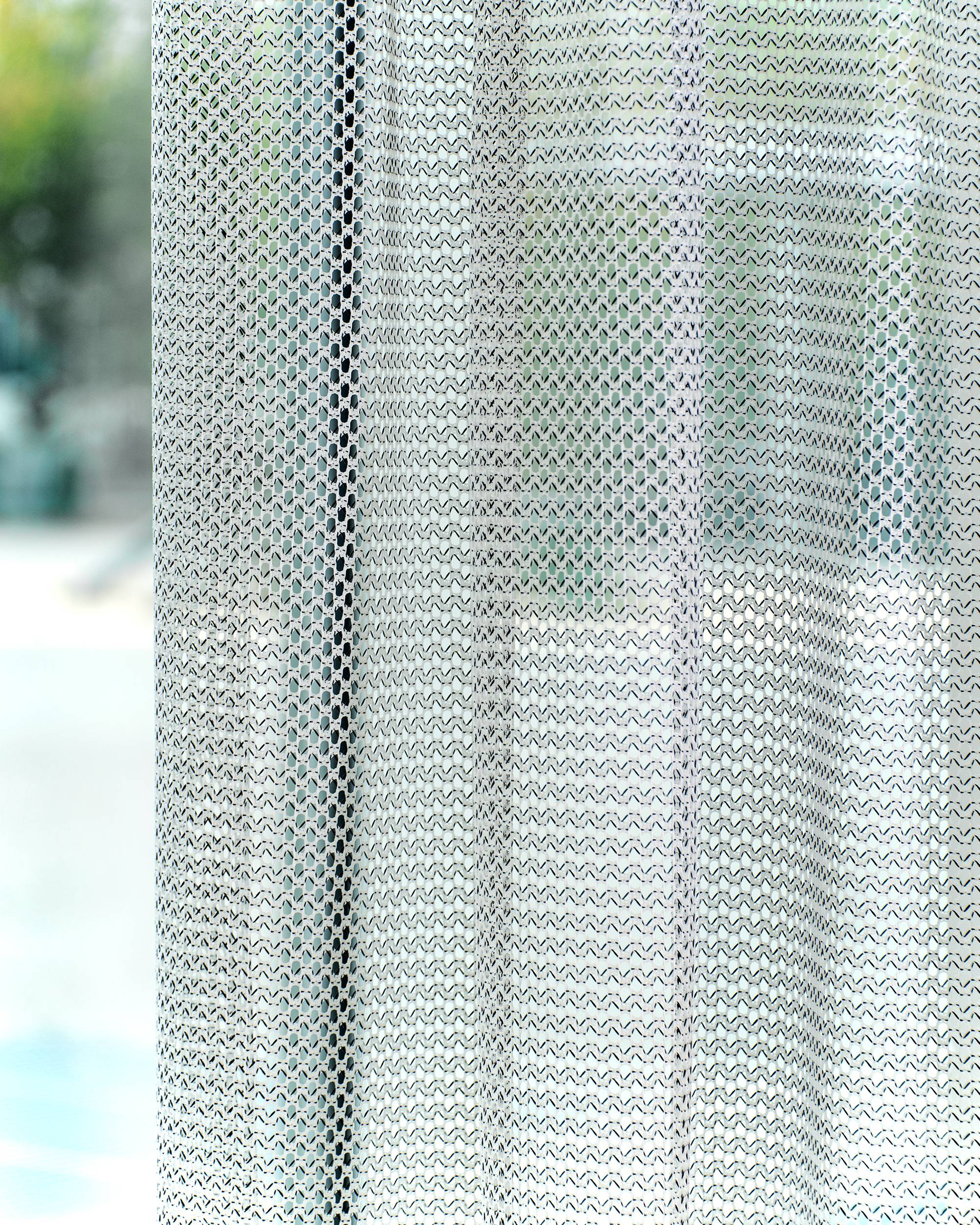 состав сетчатых штор