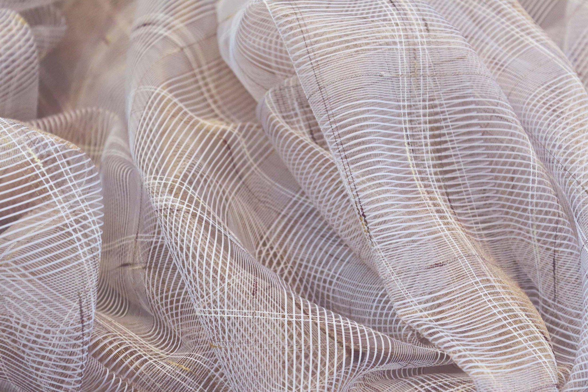 структура сетки шторы