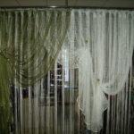 шторы комбинированные-сетка