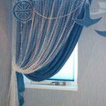 шторы-сетка морские