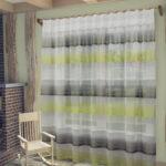 шторы-сетка полосатые широкие