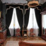 шторы модерн черные