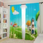 шторы детские яркие