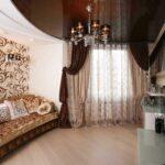 шторы модерн в гостиной