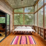 современная подвесная кровать идеи дизайна