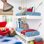 современная подвесная кровать идеи декор