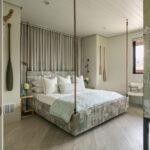 современная подвесная кровать фото оформление