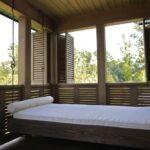 современная подвесная кровать варианты фото