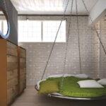 современная подвесная кровать виды фото
