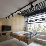 современная подвесная кровать дизайн