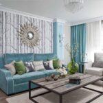 современный диван интерьер