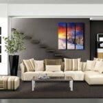 современный диван виды декора