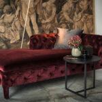 современный диван кушетка интерьер