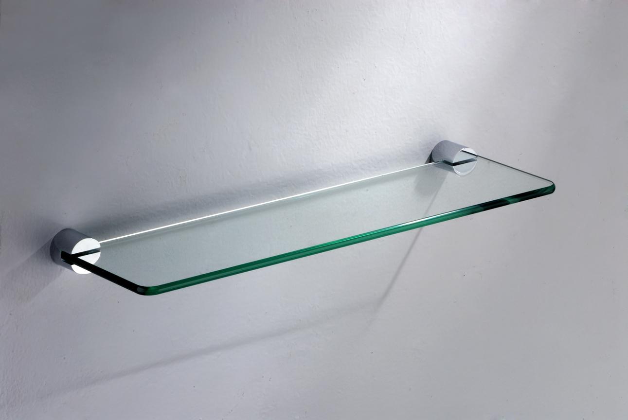 стеклянные полки на стену дизайн фото