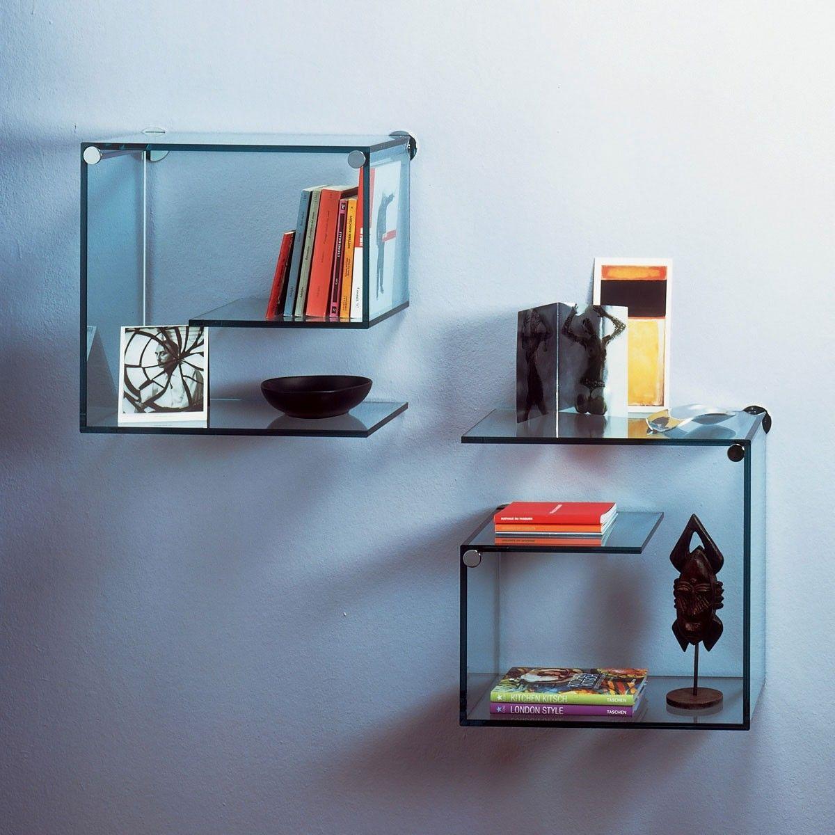 стеклянные полки на стену фото дизайн