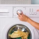 стирка в стиральной машине фото