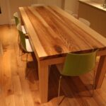 стол из массива дерева фото