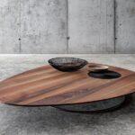 стол из массива дерева декор идеи