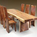 стол из массива дерева варианты