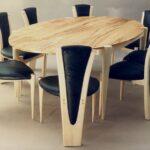 стол из массива дерева фото варианты