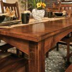 стол из массива дерева фото виды