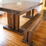 стол из массива дерева фото дизайна
