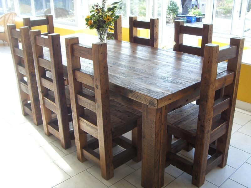 стол из массива дерева дизайн