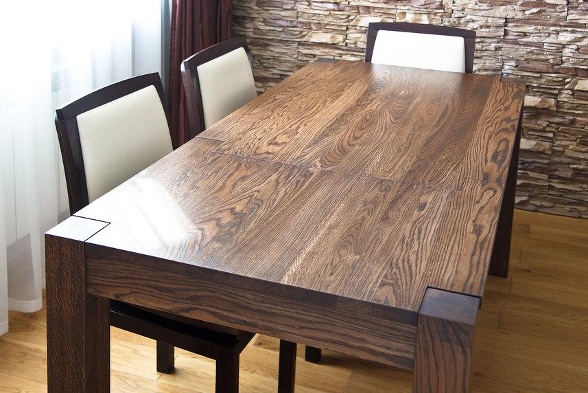 Обеденный стол из дерева картинки