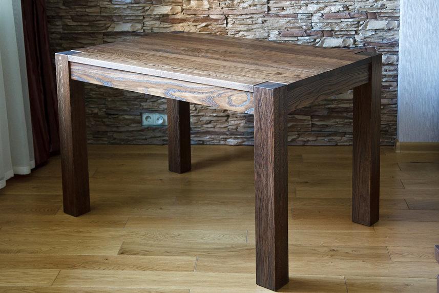 стол из массива дерева идеи дизайна