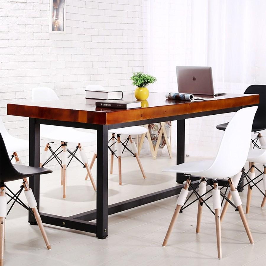 стол из массива дерева идеи фото