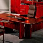 комп стол красный