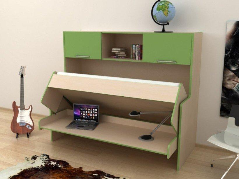 стол кровать дизайн идеи