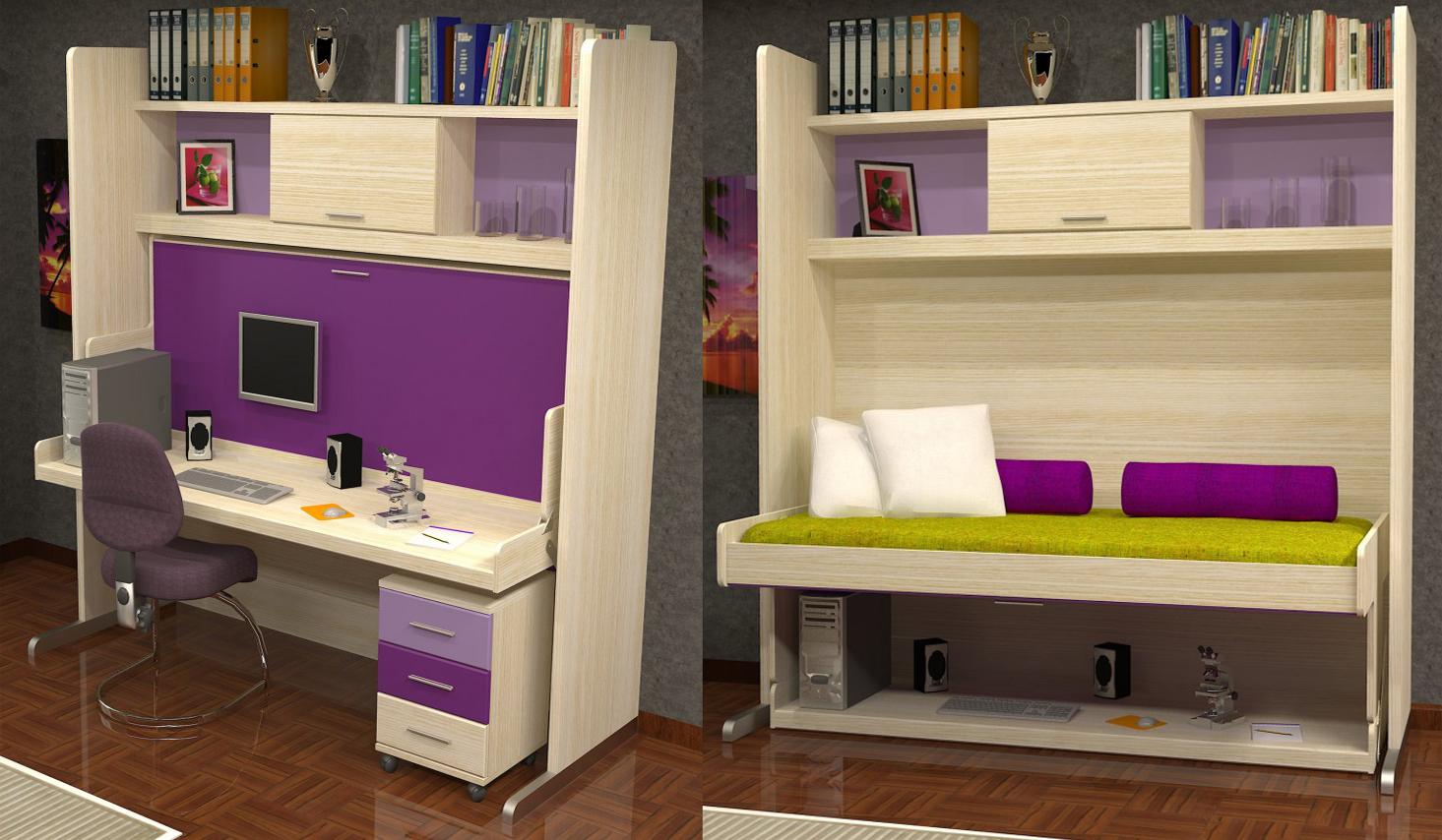 стол кровать фото дизайн