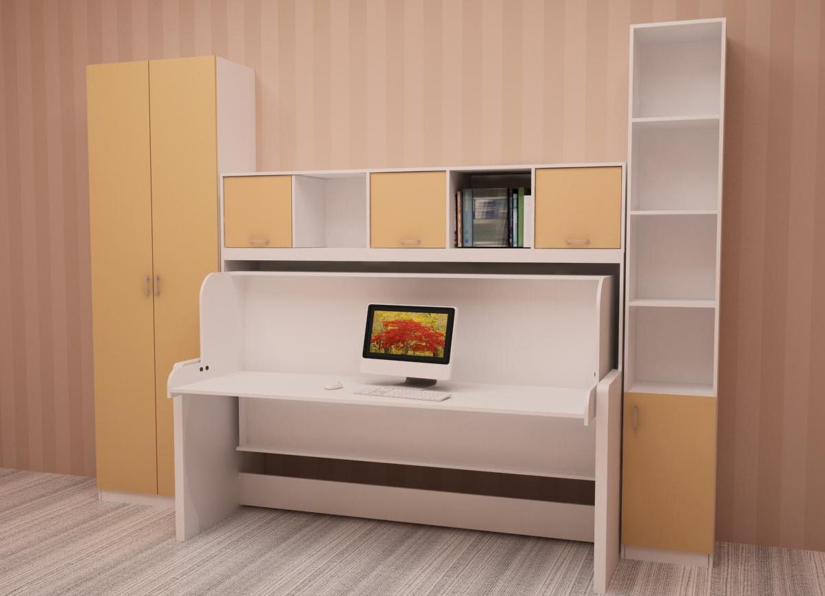 стол кровать идеи дизайн