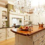 стол остров для кухни фото интерьер