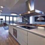 стол остров для кухни оформление