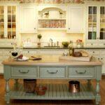 стол остров для кухни оформление идеи