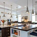 стол остров для кухни виды декора