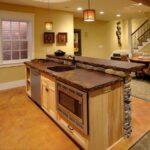 стол остров для кухни декор фото