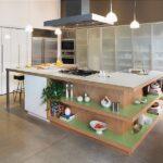 стол остров на кухне дизайн