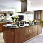 стол остров на кухне дизайн фото