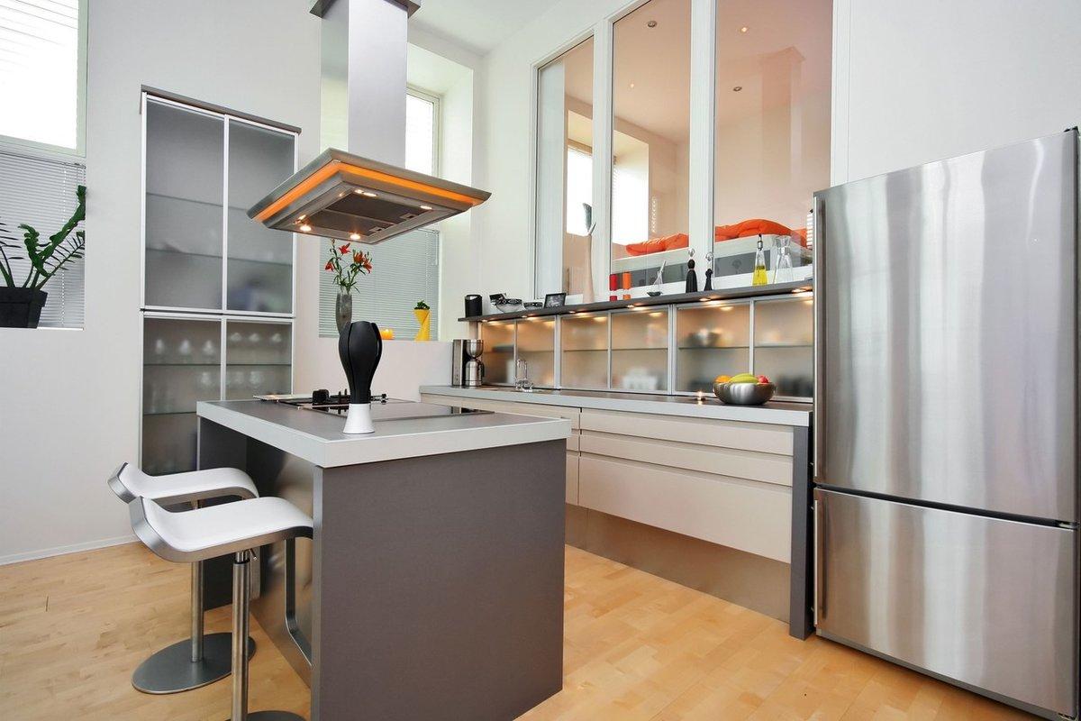 стол остров на кухне фото дизайна