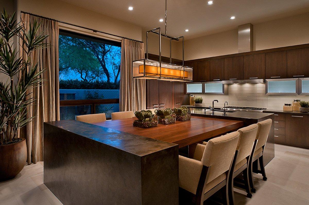 стол остров на кухне фото оформление