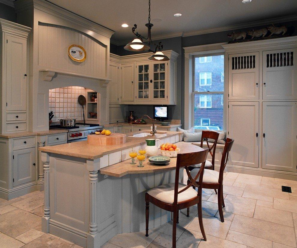 стол остров на кухне фото оформления
