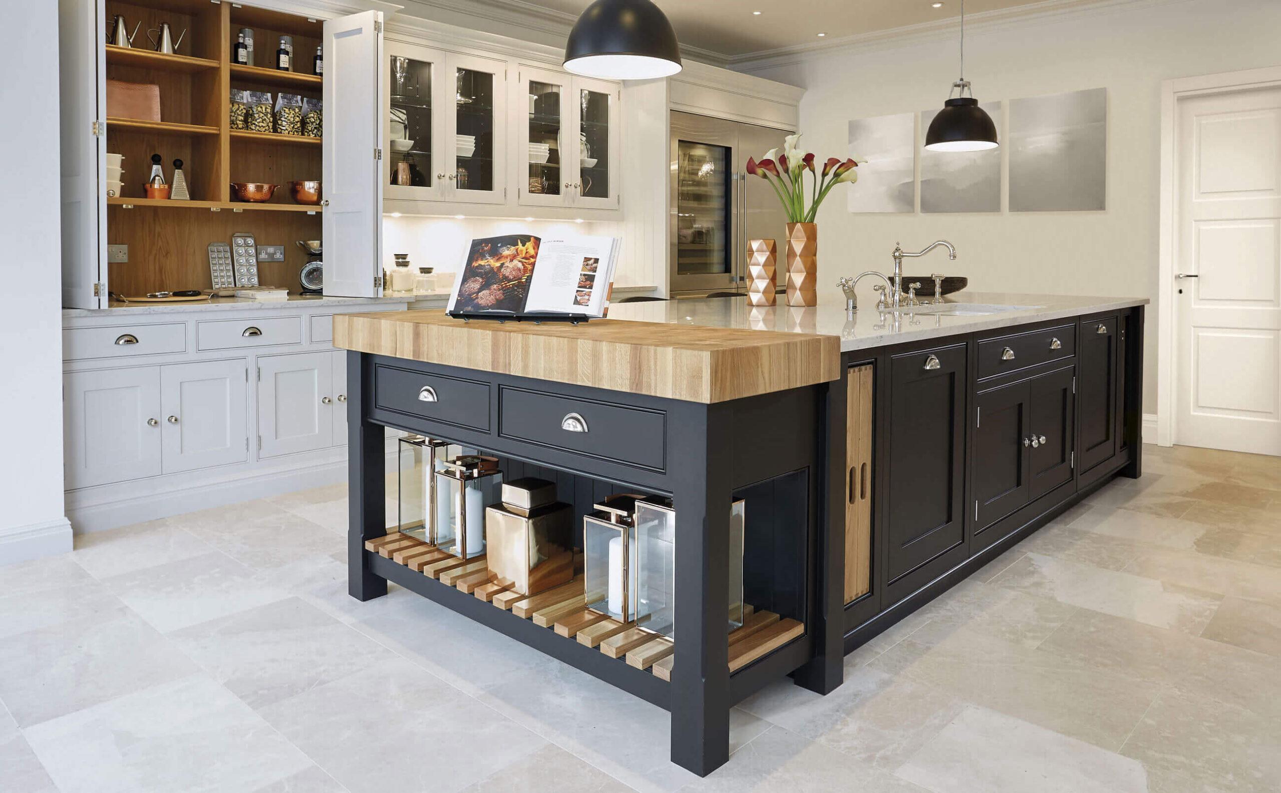 стол остров на кухне идеи дизайн