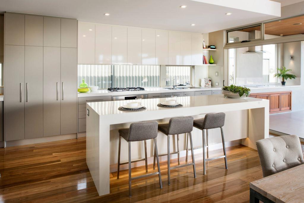 стол остров на кухне
