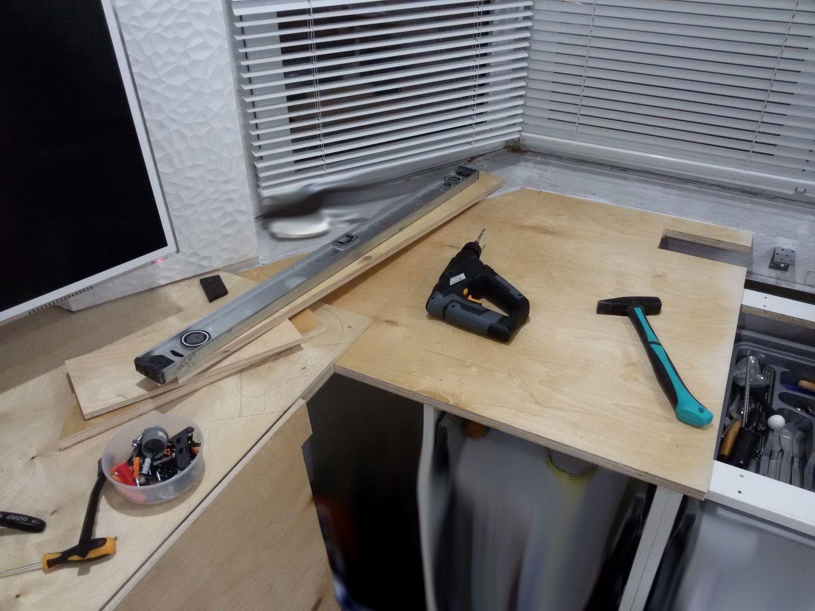 инструменты для столешницы